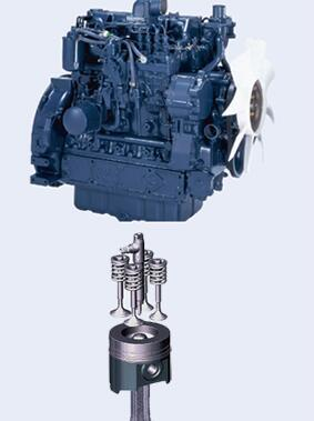 久保田M954K拖拉机发动机