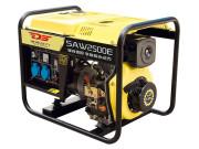 2kw发电机SAW2500E施工柴油发电机