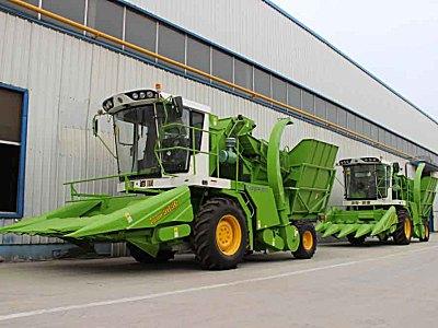 润源4YZ-5S玉米收割机