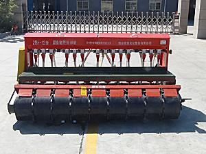亚澳2BF-13型圆盘施肥播种机