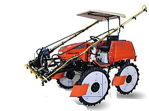 永佳3WSH-1000自走式水旱两用喷杆喷雾机