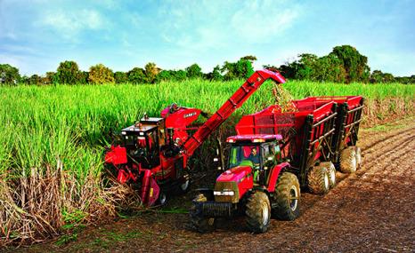 凱斯4000甘蔗收獲機