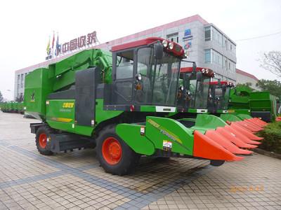 中收4YZ-4G4自走式玉米收获机