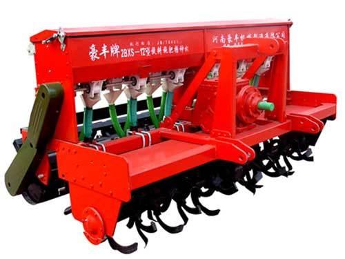 豪豐2BXS-12C免耕施肥播種機