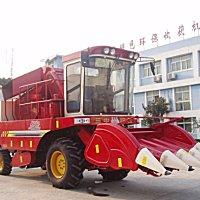 新三王4YZ-3C自走式玉米聯合收獲機