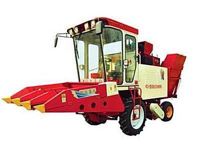 豪豐4YZX-3自走式玉米收獲機