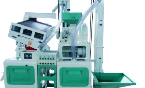 仙粮CTNM15成套组合碾米机