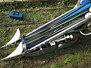 康博4G-200韭菜收割机