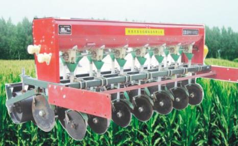 农家仓2BFG-12旋耕施肥播种机