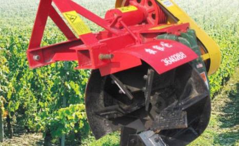 農家倉1MT-200葡萄埋藤機