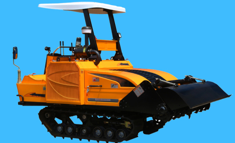 龍舟1GZ-180履帶自走式旋耕機