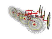 9LZ-4.8指轮式搂草机
