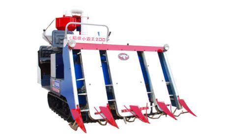 汽牛4LZS-1.0水稻联合收割机