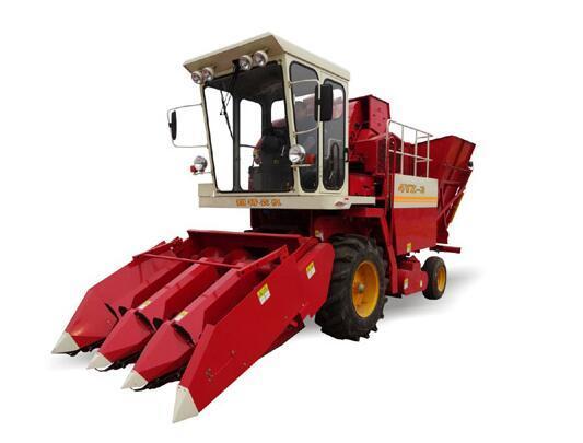 铠特4YZ-3型自走式玉米收割机
