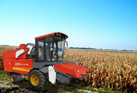 河北英虎4YZB-3B型玉米收获机