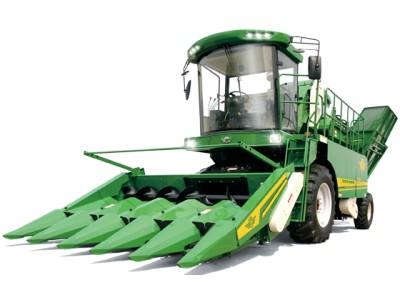 山東五征4YZP-5自走式玉米收割機