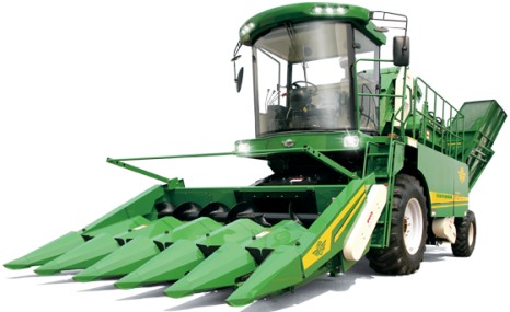 五征4YZP-5自走式玉米收割机