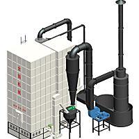 金錫5LKXR-100型熱風爐
