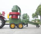 匙鳴9SM-YJ-2000型移動式秸稈固化設備