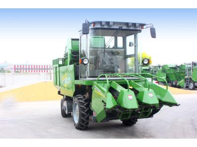 金大豐豐景4YZP-3自走式玉米收獲機