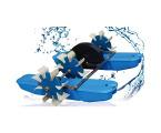 義民YC系列水車(蹼輪)式增氧機