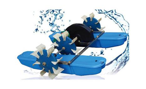 义民YC系列水车(蹼轮)式增氧机