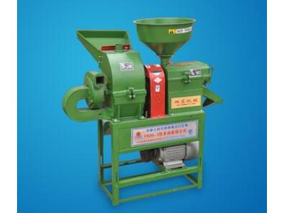旭东6N80-9FQ20型家用碾米机粉碎机组合机