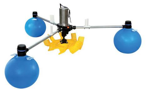 金湖YL-1.5叶轮式增氧机