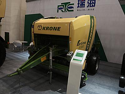 科羅尼Formit F1250MC圓捆撿拾切碎壓捆機