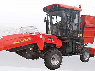 华夏4YZP-3Y玉米收获机