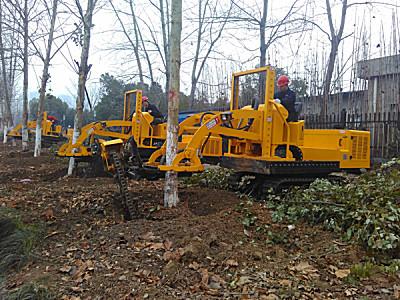 三普3WSL-1.6型履带式挖树机