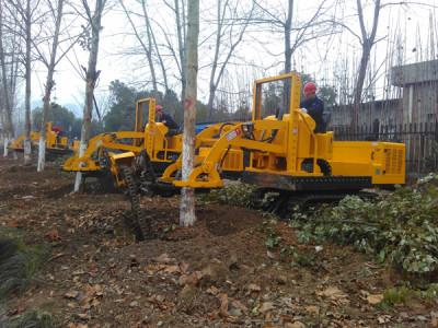 三普3WSL-1.6型履帶式挖樹機