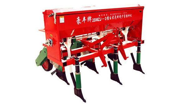 豪丰2BMZJ-3玉米免耕精量播种机