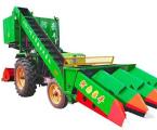 豪豐4YW-2背負式玉米收割機