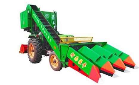 豪丰4YW-2背负式玉米收割机