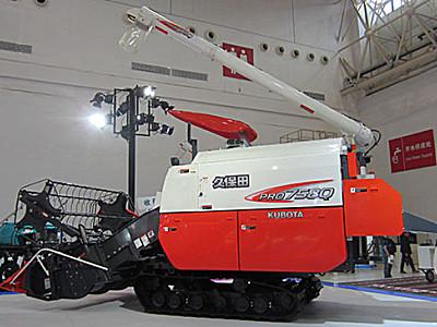 久保田PRO758Q履帶式聯合收割機
