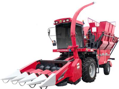 牧神4YZB-4A型自走式穗茎兼收玉米收获机