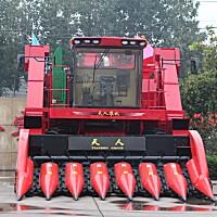 天人4YZ-7(TR9988-7A)玉米收割机