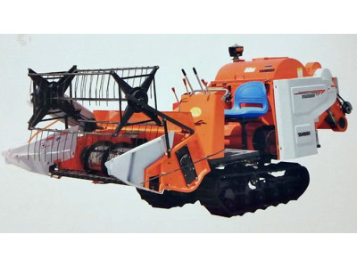 盐城奔牛4LZ-1.0履带式谷物联合收割机