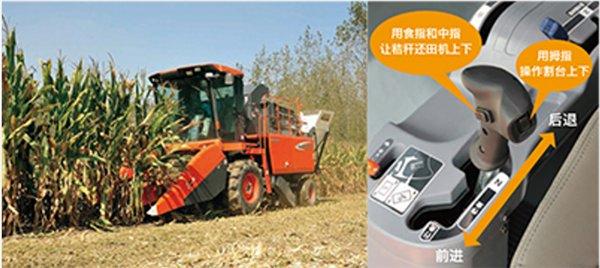 久保田4YZB-4(PRO1408Y-4)玉米收获机手柄