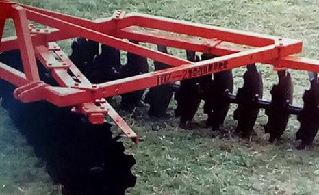 广西农机院1BZ系列悬挂地耙