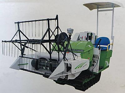 农家盼4LZ-1.0A履带自走式全喂入联合收割机