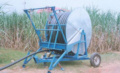 廣西農機院8PJ-75軟管卷盤噴灌機