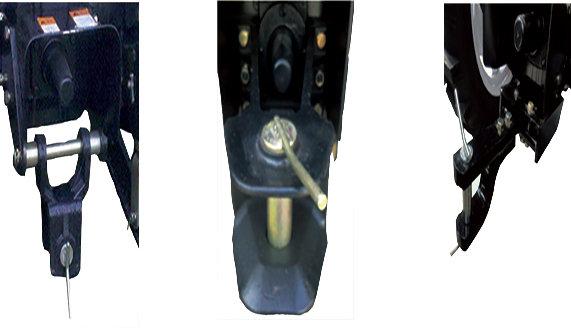 常发CFC454轮式拖拉机优化动力输出和拖挂结构