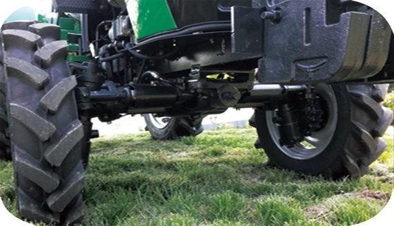 常发CFC454轮式拖拉机全密封前桥