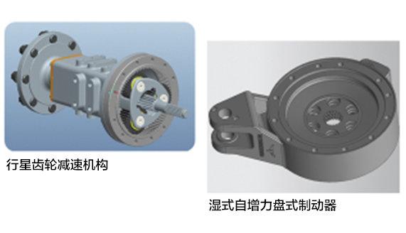 常发CFC454轮式拖拉机制动器