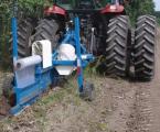 沃尔LDP-80农田防护林带根系阻断铺膜机