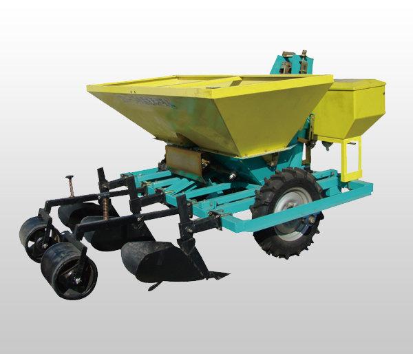 沃爾2CMF-4馬鈴薯施肥種植機