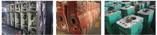 沃得奥龙WD404K轮式拖拉机过桥壳体、传动箱、半轴套管