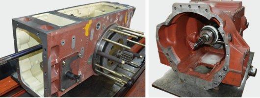 沃得奥龙WD1204G轮式拖拉机变速箱、前桥、后桥箱体